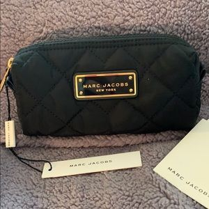 Marc Jacobs Black quilted Cosmetic Bag. Bnwt